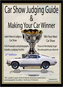 car show judging book