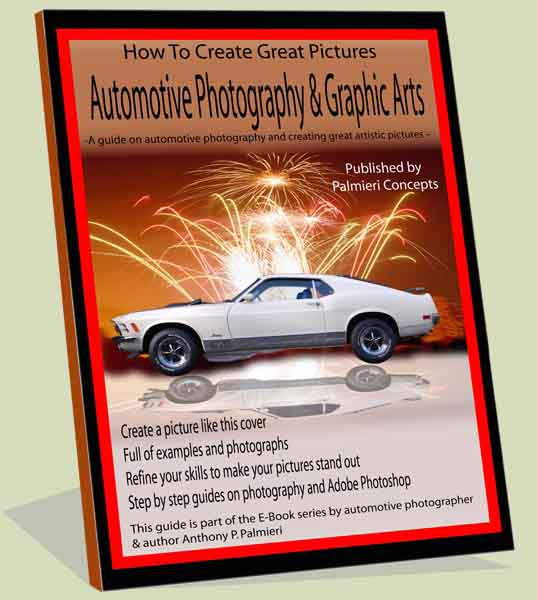 Book Cover Photography Tips ~ Automotive photography guide tips ebook
