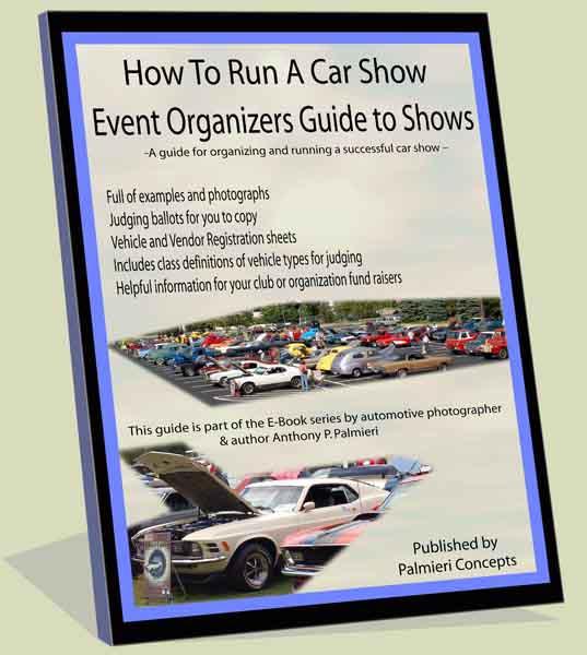 How To Run A Car Show Running A Car Show E Book Car