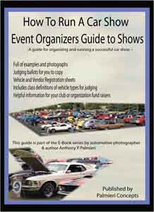 running a car show book