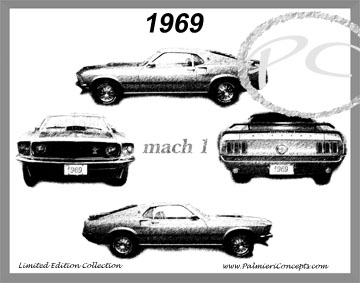 1969 Mach 1  Mustang Image - Classic Car Pictures