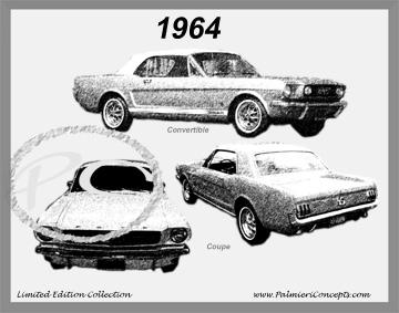 1964 Mustang Image - Classic Car Pictures