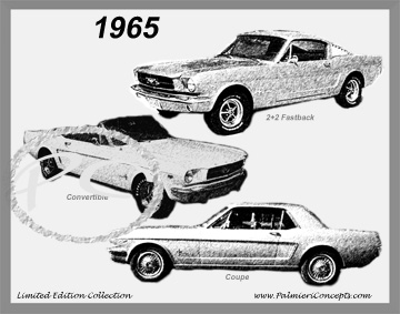 Mustang  Sketch on Classic Car Photography   Classic Car Pictures   Vintage Car