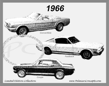 1966 Mustang Image - Classic Car Pictures