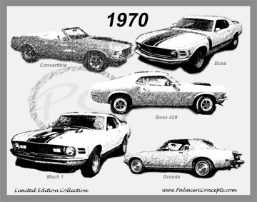 1970 Mustang Image - Classic Car Pictures