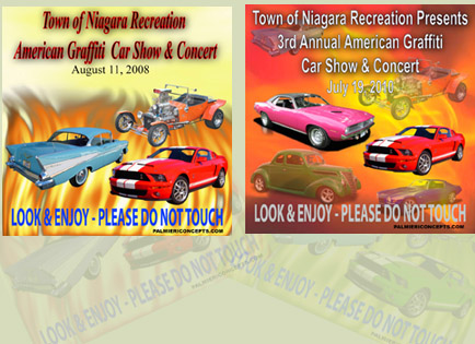 car show dash plaque image
