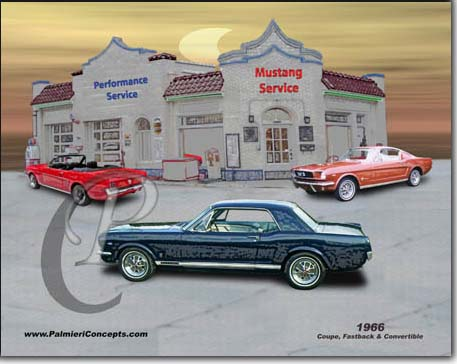1966 mustang coupe, convertible , fastback image