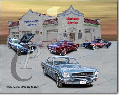 early mustang images