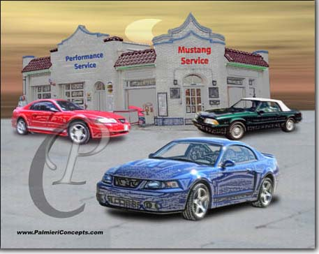 late mode mustangs image