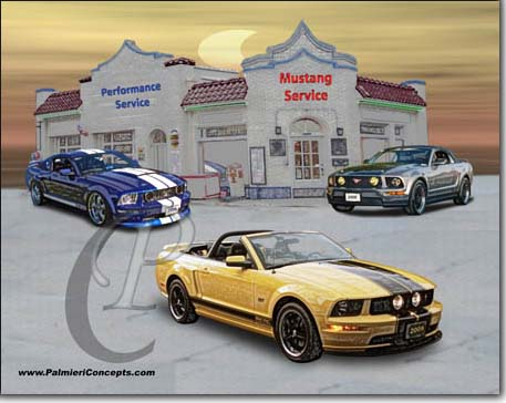 2005 2007 mustang images
