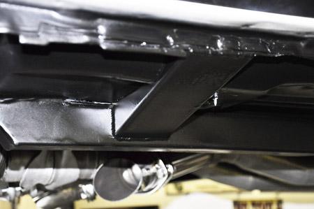 Tie Sub Frame Connectors To Rocker Panel Vintage Mustang