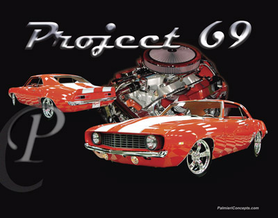 Copyright Palmieri Concepts / P272-1969-Camaro-Project-69