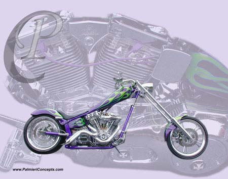 Iron Horse Texas chopper