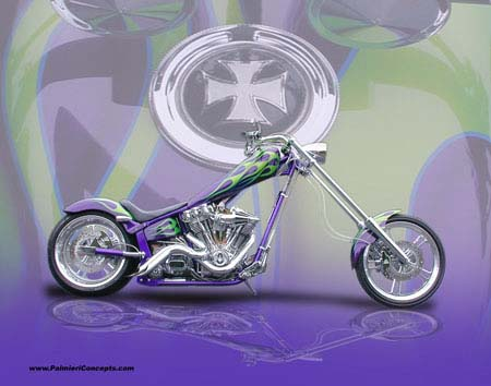 custom motorcycle picture